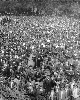 This is an image ofFoote 1679. Winnipeg General Strike, crowds at Victoria Park  courtesy of PAM.